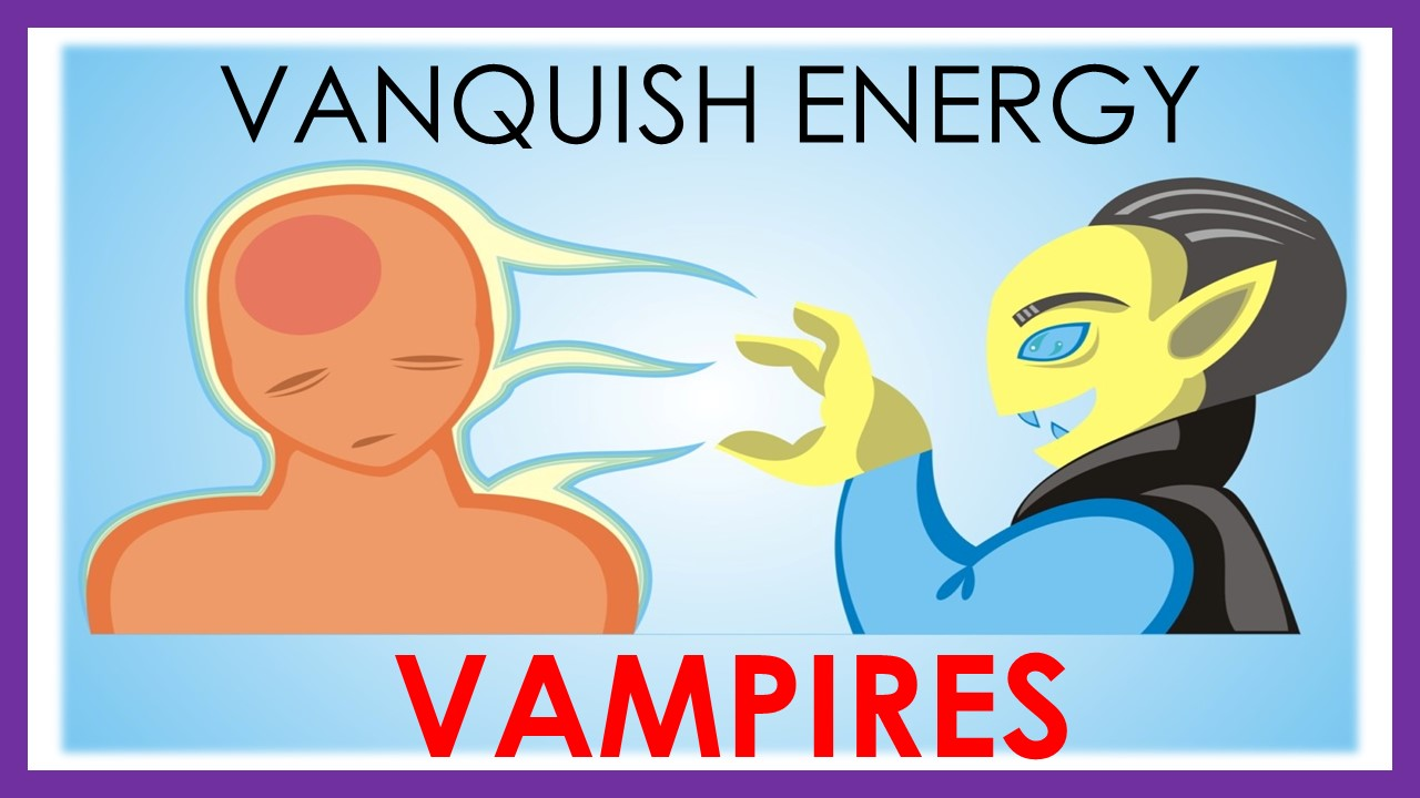How To Disconnect From Energy Vampires